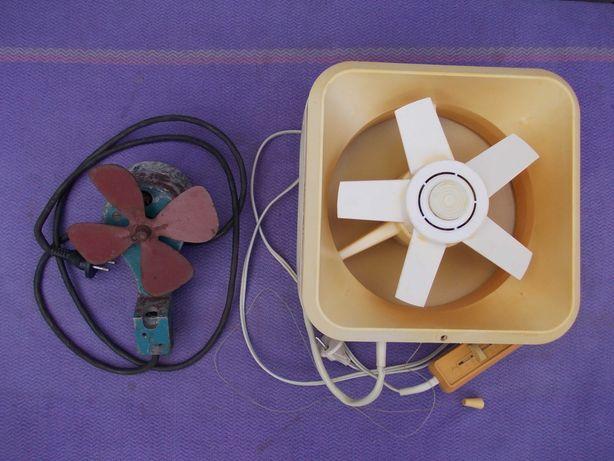 Вентилятор оконный форточный вытяжной 1950-е годы, Ветерок. Вытяжка