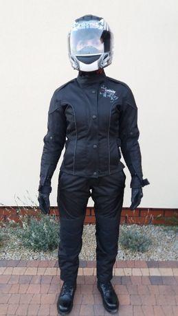 Kurtka, spodnie i rękawice na motocykl