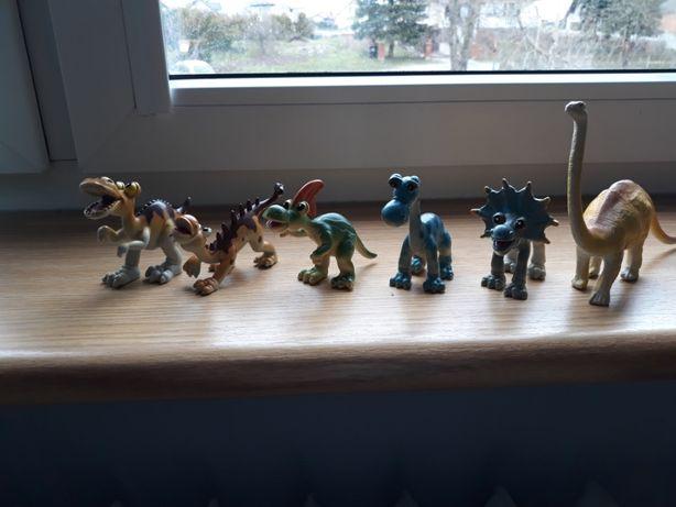 Zabawkowe dinozaury