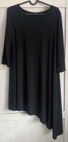 Asymetryczna sukienka Mohito 38 M czarna