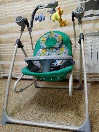 Кресло - качалка CARELLO Nanny 3в1 CRL 0005 (укачивающий центр,качеля)