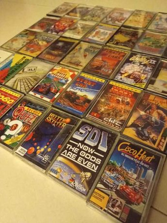 Mais de 40 jogos e programas para Zx Spectrum