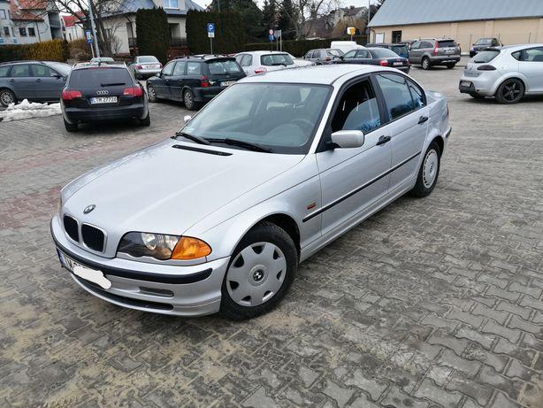 BMW E46 1.8B+Gaz Sekwencja 2001r Klimatyzacja 2 kpl.Kół Zarejestrowana