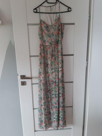 Długa sukienka Boho lato