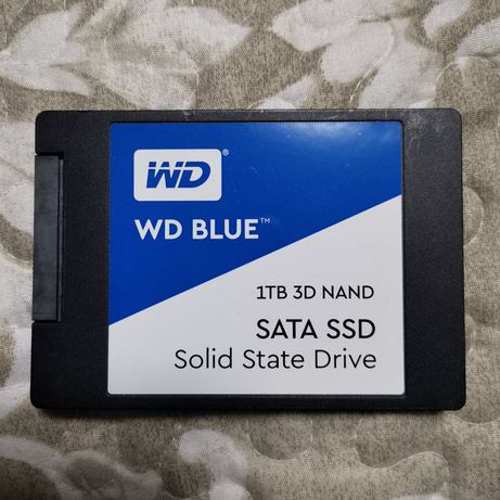 SSD WD 1Tb como novo