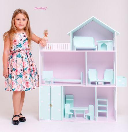 Кукольный домик (разноцветный)