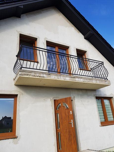 Balustrada, barierka, balkonowa