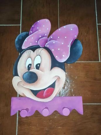 Cabide parede Minnie