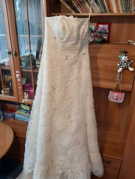 Wyjątkowa suknia ślubna rozmiar 40-42