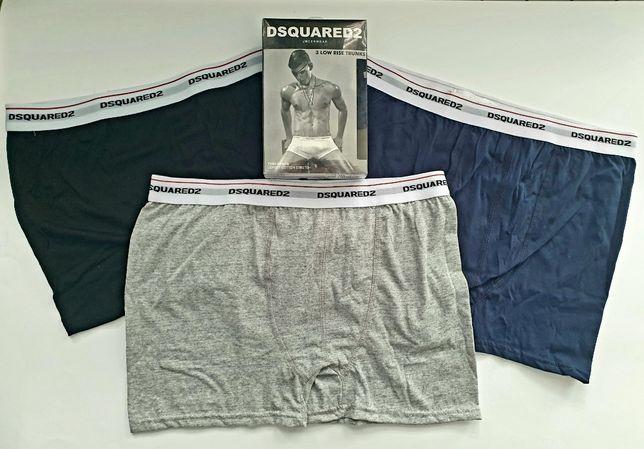 WYPRZEDAŻ! Bokserki Męskie Dsquared 3pak jakosc Premium ! Duzy Wybór!