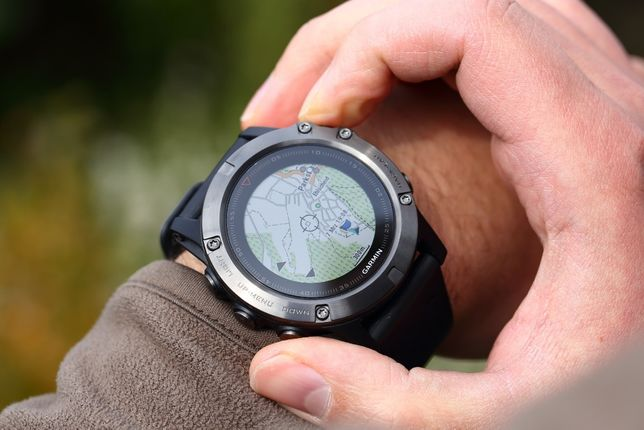 Часы спортивные Garmin Fenix 5X Sapphire