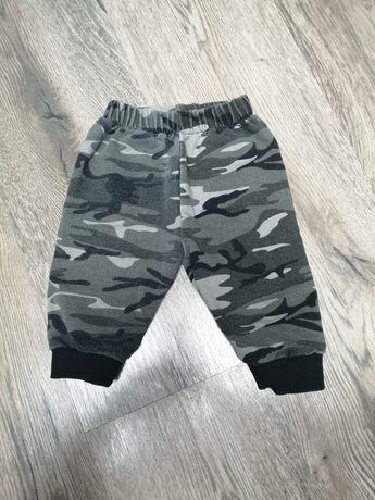 Spodnie moro dla chłopca