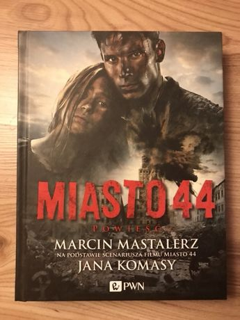 Miasto 44 Ilustrowana powieść z dvd.