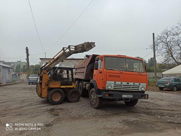 Демонтаж,снос строений,вывоз мусора, планировка трактором