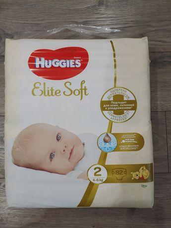 Huggies Elit Soft 2 (4-6кг) 82шт