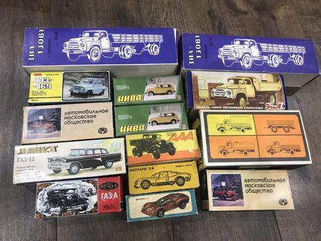 Коробки к моделям УАЗ Нива