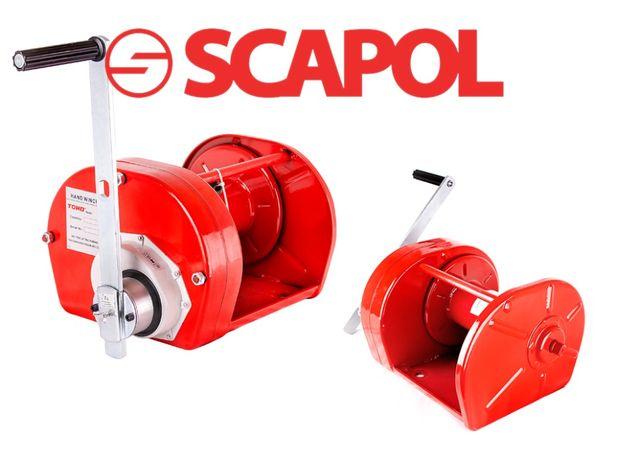 Ręczna wciągarka linowa 2000 kg JC-E2