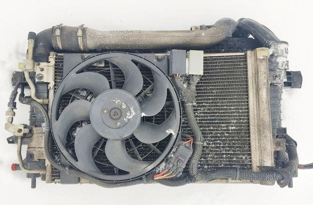Вентилятор Радиатор кондиционера Opel Zafira B Astra 1.7CDTI 13171592