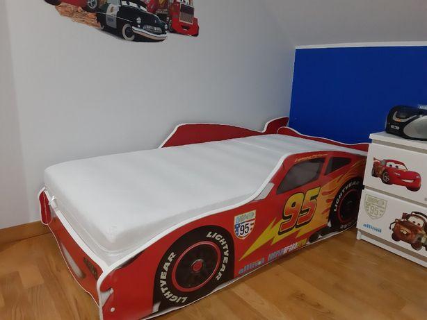 Łóżko dla chłopca AUTO 160x80 Disney Zygzak McQuenn