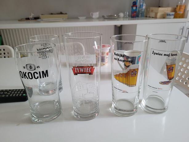 Szklanki do piwa .
