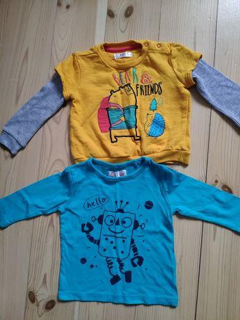 2 bluzeczki bluzki cool club Pepco 68 jak nowe