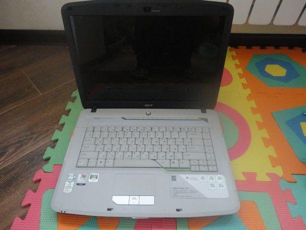 продам неробочий ноутбук Acer Aspire 5520G на запчастини (без екрана)