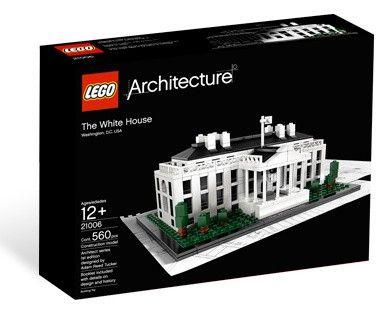 Lego Architecture 21006 Белый Дом. В наличии