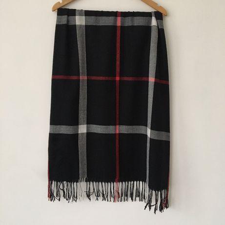 Шёлковый палантин шарф платок