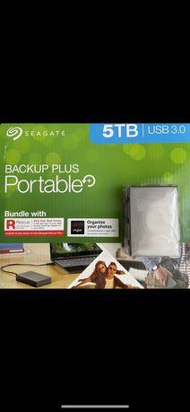 Жесткий диск Seagate Backup Plus 5TB External, STHP5000600 Hard Drive