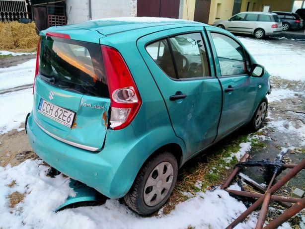 Suzuki Splash 1,0 2009 r. Klima, powypadkowy