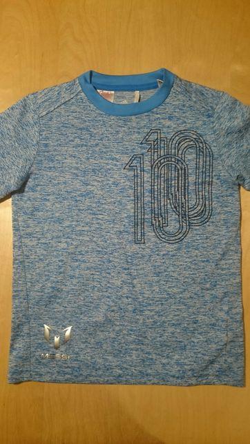 Adidas messi oryginał logo funkcyjna climalite 9-10 lat
