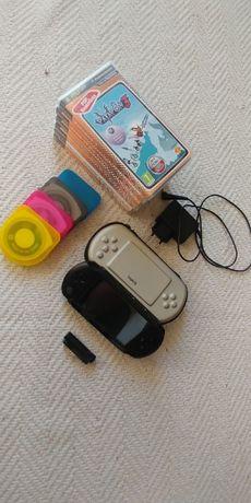 Używany PSP + gry + kamera + pokrowiec