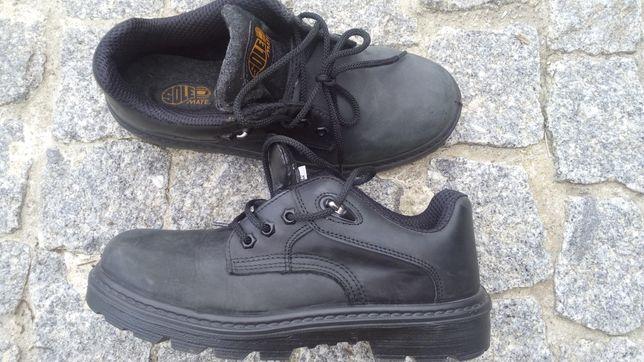 Sapato biqueira de aço