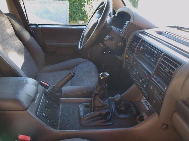 Foles em pele travao e mudanças Land Rover Discovery Tdi e Td5