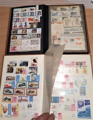 Kolekcja znaczki czyste 1978-92r ponad 800szt