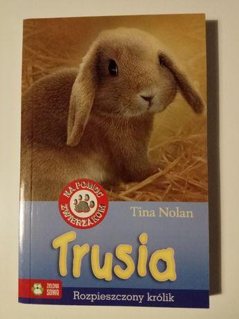 Książka - Trusia - rozpieszczony królik - Tina Nolan
