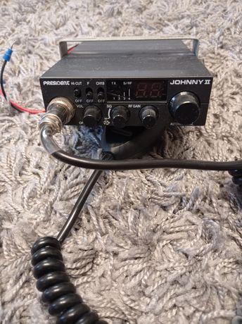 Cb radio president johnny 2+antena