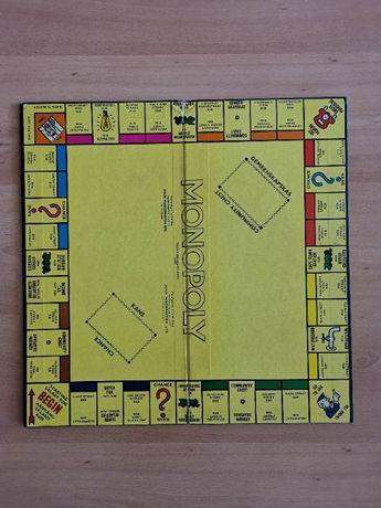 Tabuleiro de Monopoly da Afica do Sul dos anos 70