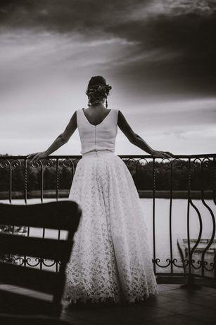 Suknia ślubna sukienka spódnica top 38 Viola Piekut