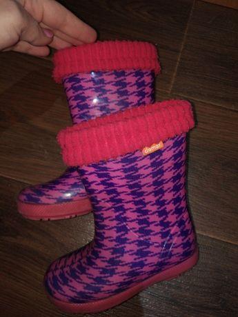 Резиновые сапоги для девочки Demar