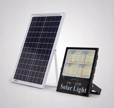 LAMPA LED 60W Solarna Uliczna zPilotem ! 180 LED! 220zl gwarancja