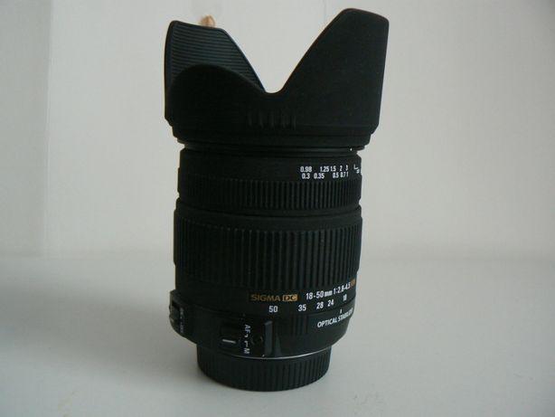 obiektyw sigma 18-50mm f2.8-4.5 dc os