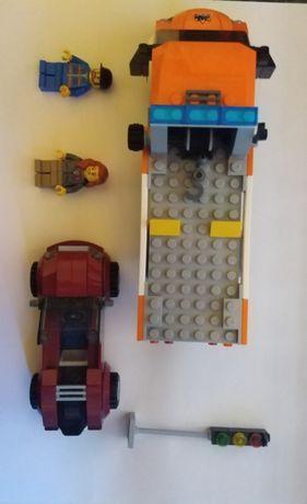 LEGO CITY 60017 Laweta z samochodem