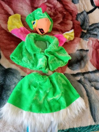 Карнавальный костюм попугайчик