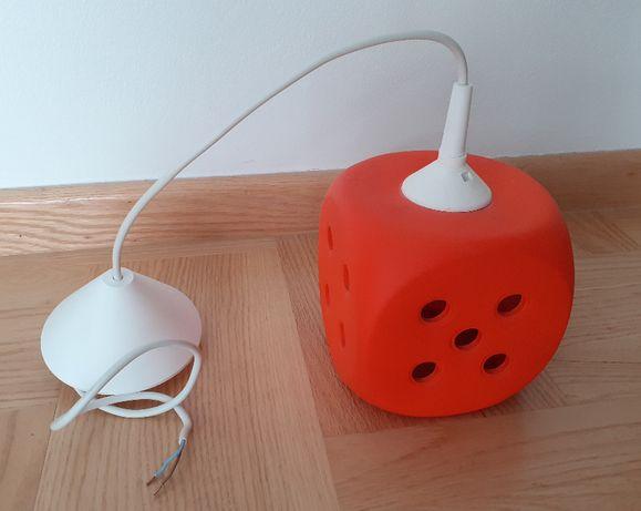 Lampa - do pokoju dziecięcego -  kostka do gry