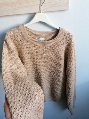 Pleciony sweter Cropp