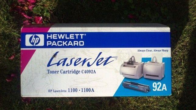 Продам новый в оригинальной упаковке картридж с тонером HP 92A
