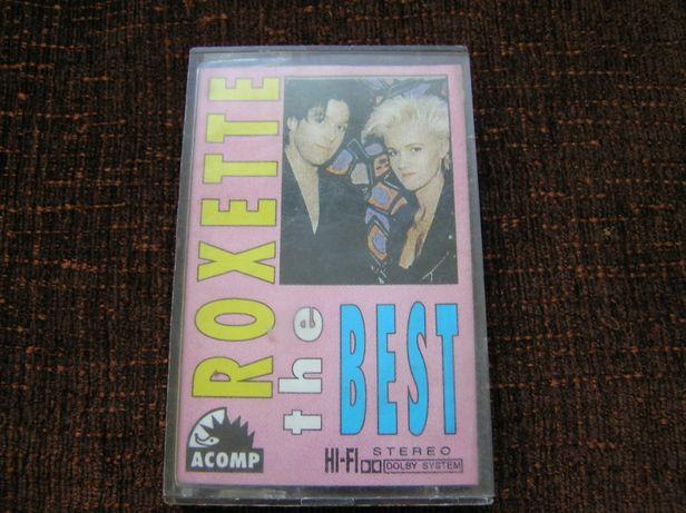 Roxette The Best kaseta audio magnetofonowa