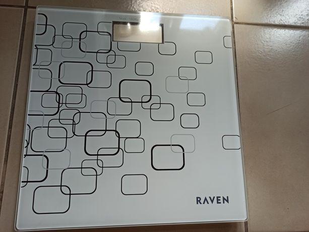 Elektroniczna waga łazienkowa Raven