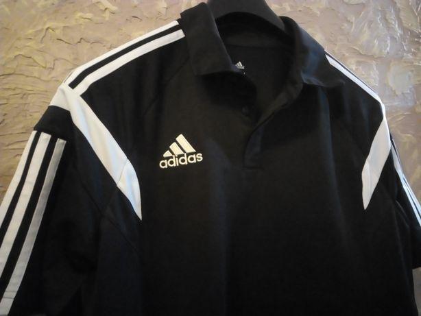 Koszulka męska t-shirt sportowa kompresyjna adidas L.